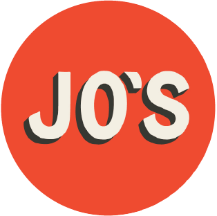 Jo's Burger Trailer logo