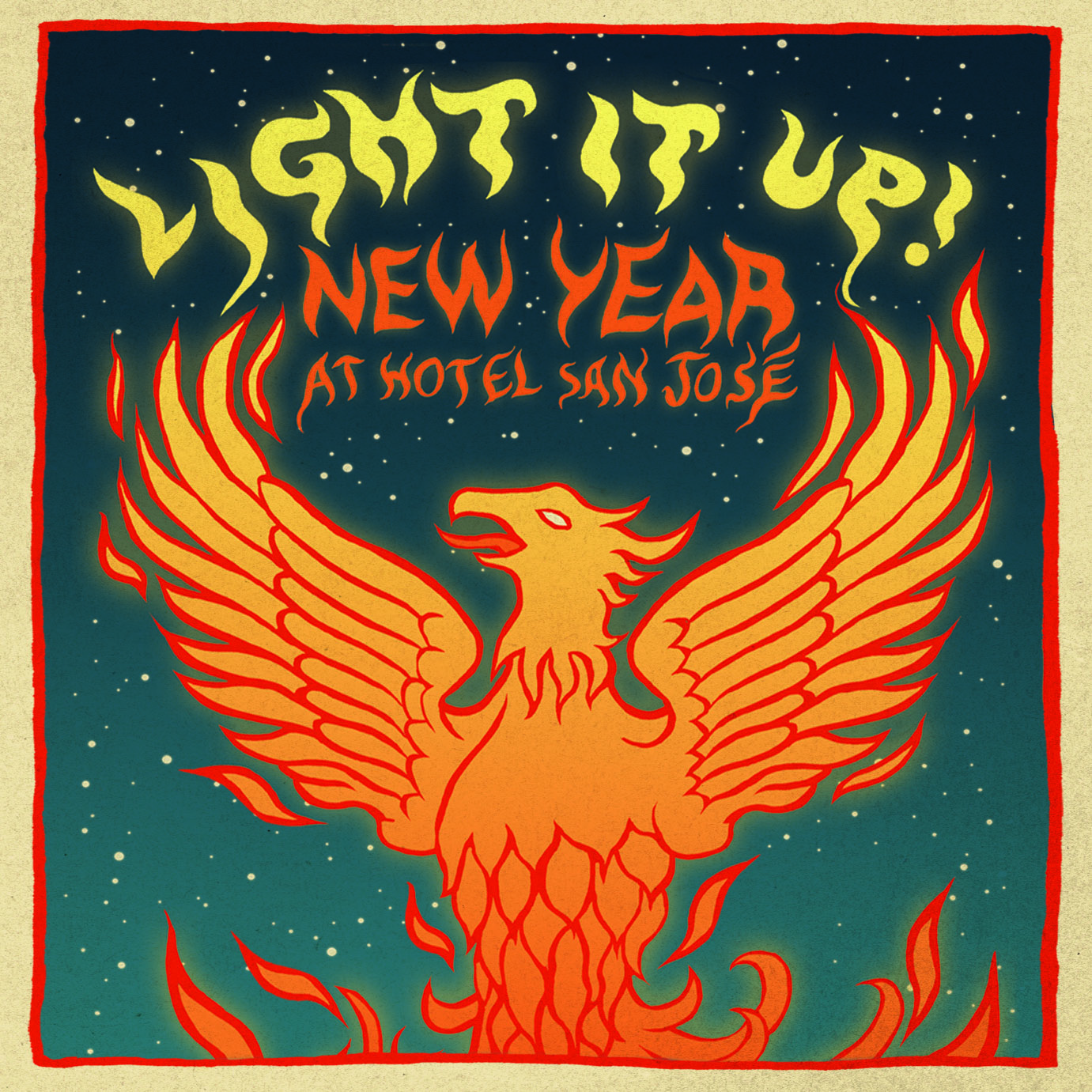 Poster for Light It Up! New Years Party