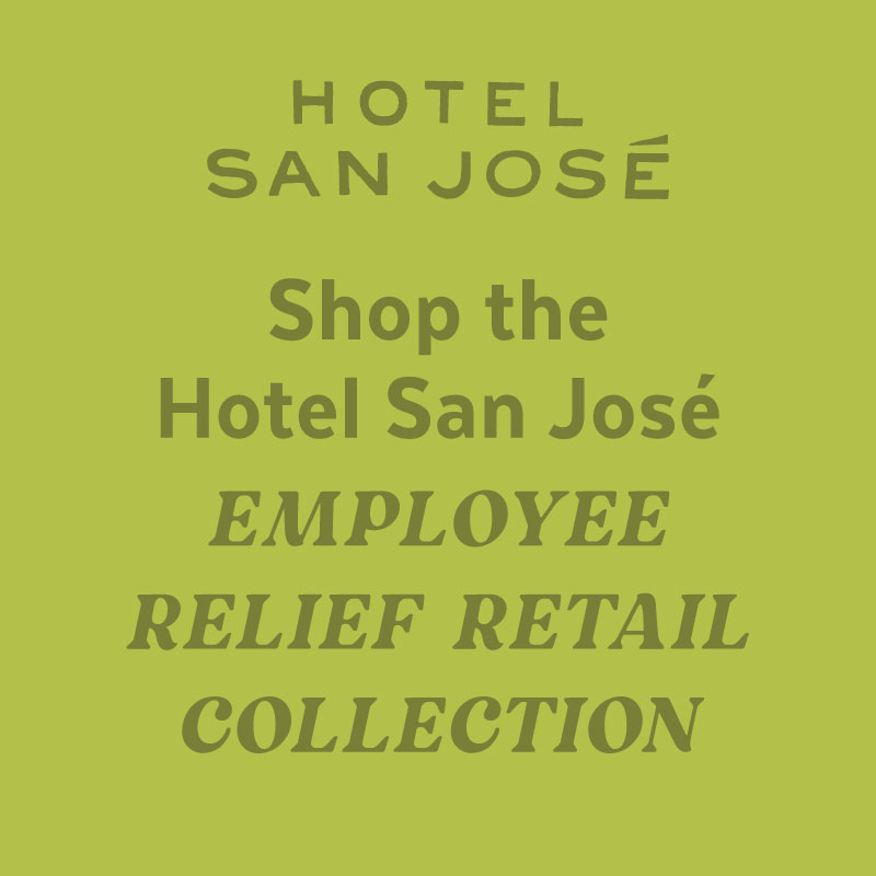 Poster for Shop the Hotel San José Gift Shop From Home