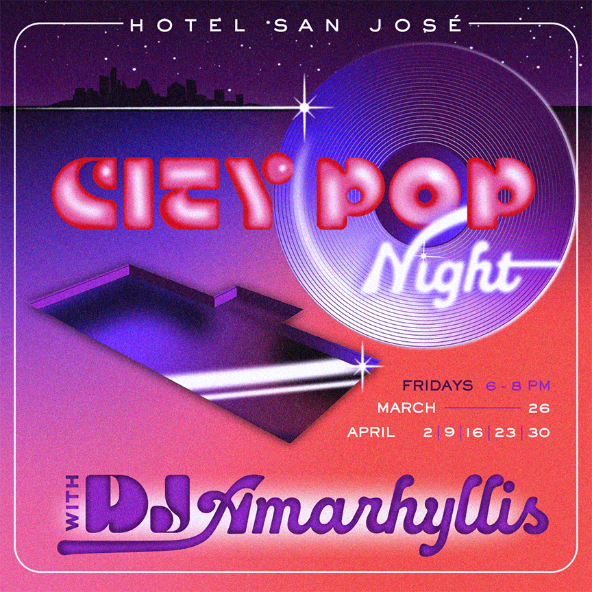 Poster for City Pop Night